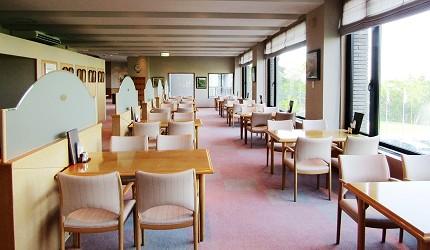高爾夫球迷必看!北海道「札幌手稻高爾夫球俱樂部」內景色一流的蕗之臺餐廳