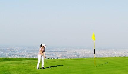 高爾夫球迷必看!北海道「札幌手稻高爾夫球俱樂部」揮桿可以看見札幌市景色