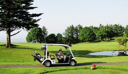高爾夫球迷必看!北海道「札幌手稻高爾夫球俱樂部」的高爾夫球車
