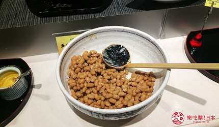 札幌飯店推薦「札幌克拉比飯店」的早餐的黑豆納豆