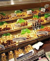 北海道必逛連鎖大型購物中心「AEON千歲店」的AEON超市販售的炸物