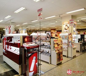 北海道必逛連鎖大型購物中心「AEON千歲店」的AEON美妝區