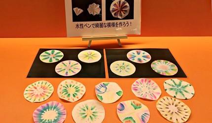 函馆亲子游推荐景点:「函馆未来馆」的设施创意工作坊的水彩杯埝