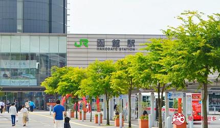 函馆亲子游推荐景点:「函馆未来馆」与函馆站只有3分钟距离