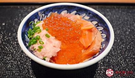 北海道函館湯之川王子飯店「渚亭」的自助餐廳「渚」的海鮮蓋飯