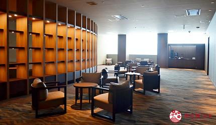 北海道函館湯之川王子飯店「渚亭」的公眾休息室