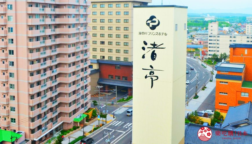 北海道享受超棒露天海景溫泉!函館湯之川王子飯店「渚亭」