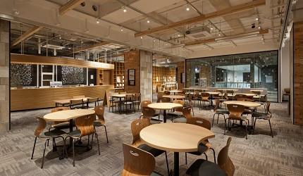 北海道函館五稜郭美食、購物推薦「SHARE STAR HAKODATE」的公共空間「G Square」