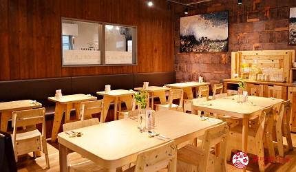 北海道函館五稜郭美食、購物推薦「SHARE STAR HAKODATE」內「SHARE STAR Kitchen」內的rocco(ロッコ)的店內照片