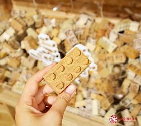 北海道函館五稜郭美食、購物推薦「SHARE STAR HAKODATE」的「無印良品」的木育廣場的積木