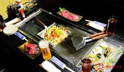 北海道札幌高CP值推薦鐵板燒專門店「雪昇」的料理