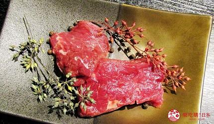 北海道札幌高CP值推薦鐵板燒專門店「雪昇」的北海道產牛里脊肉(道内産牛ヒレ)