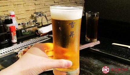 北海道札幌高CP值推薦鐵板燒專門店「雪昇」的和牛上後腰脊肉(ランプ牛)