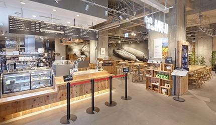 北海道函館五稜郭美食、購物推薦「SHARE STAR HAKODATE」的Café&Meal MUJI