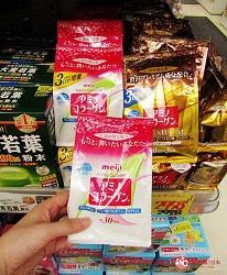 札幌必逛藥妝「SUNDRUG 狸小路2丁目店」販售的明治氨基酸膠原蛋白袋裝