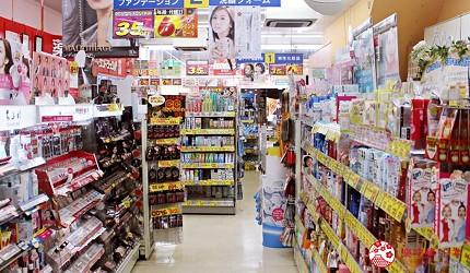 北海道札幌SUNDRUG 狸小路2丁目店店內一景