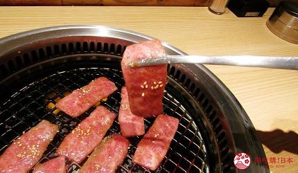 北海道A5和牛札幌燒肉專門店推薦「BULL TOKYO」的上品牛肋肉(上カルビ)