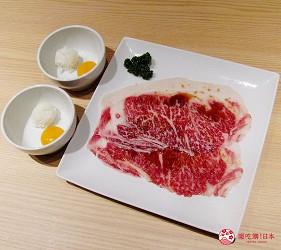 北海道A5和牛札幌燒肉專門店推薦「BULL TOKYO」的壽喜燒沙朗牛排(すきやきサーロイン)