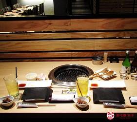 北海道A5和牛札幌燒肉專門店推薦「BULL TOKYO」的店內座位照片