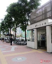 北海道A5和牛札幌燒肉專門店推薦「BULL TOKYO」交通方式步驟一