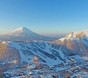 北海道最大!吃喝玩樂購物樂趣一次滿足──四季度假勝地「留壽都度假區」冬天美景其一