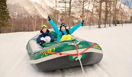 北海道最大四季度假勝地「留壽都度假區」冬季玩雪船