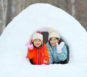 北海道最大四季度假勝地「留壽都度假區」冬季造雪屋