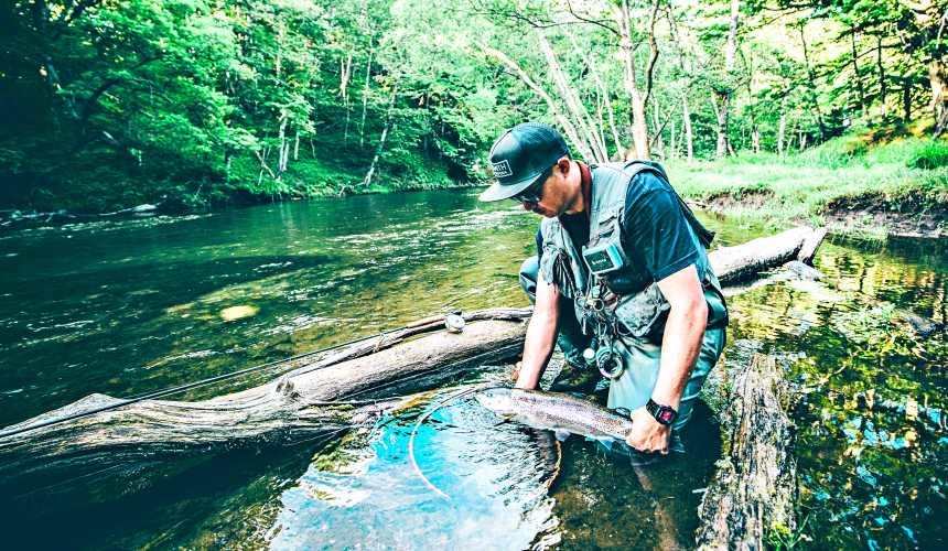 北海道釧路「阿寒湖」旅行推薦景點!夏天阿寒湖的釣魚體驗