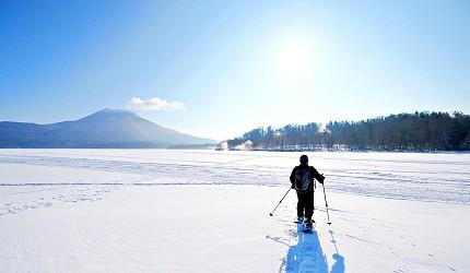 北海道釧路「阿寒湖」旅行推薦景點!冬天阿寒湖的雪鞋冰湖體驗