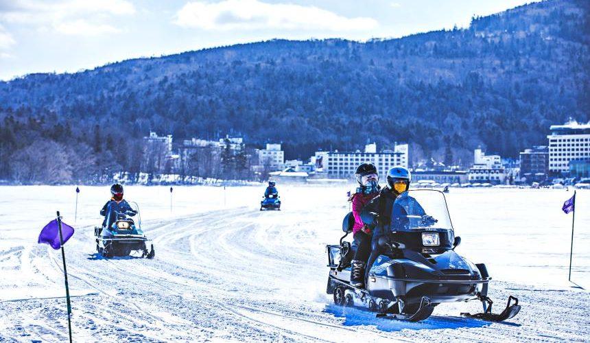 北海道釧路「阿寒湖」旅行推薦景點!阿寒湖「Ice Land 阿寒」四輪摩托車體驗