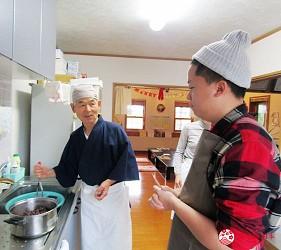 來去北海道鄉下搗麻糬!石狩當別「Friendly Farm」民家搗麻糬體驗製作紅豆餡步驟一