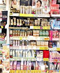 札幌必逛藥妝「SUNDRUG 狸小路2丁目店」販售的資生堂系列產品