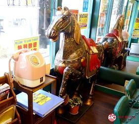 北海道自由行函館一日遊自助旅行,函館的「小丑漢堡」的店內一景