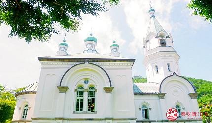 北海道自由行函館一日遊自助旅行,函館的「哈利斯特斯東正教堂」