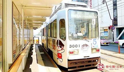 北海道自由行函館一日遊自助旅行,函館市電車車