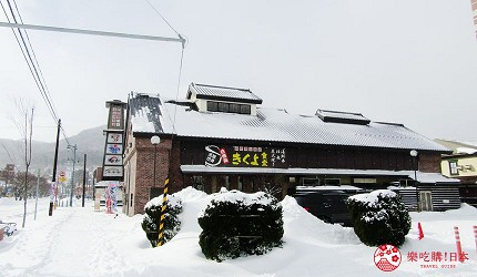 北海道函馆的炭火烧烤名店「きくよ食堂 Bay Area店」的交通方式步骤二