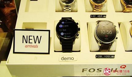 新千岁机场旁,北海道必逛最大购物城「Chitose Outlet Mall Rera」内的Watch Station International高级品牌手表商品