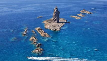 北海道積丹半島神威岩