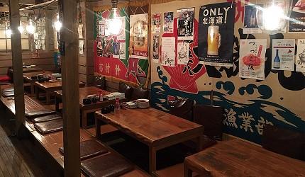 北海道居酒屋海味はちきょう
