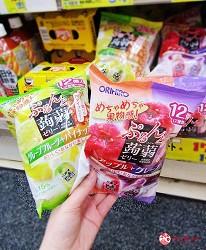 札幌狸小路必逛药妆推荐「SUNDRUG 狸小路2丁目店」贩卖的ORIHIRO 蒟蒻果冻