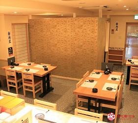 札幌狸小路吃和牛海鮮店「北海道朝市」的店內一景