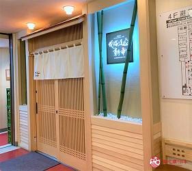 札幌狸小路吃和牛海鮮店「北海道朝市」的店家外觀