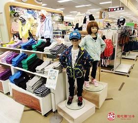 北海道札幌最大規模商場「AEON MALL 札幌發寒店」的兒童服飾
