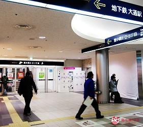 札幌買刀推薦百年刀具專門店「宮文」的交通方式步驟一