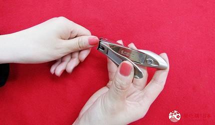 札幌買刀推薦百年刀具專門店「宮文」的「匠之技」系列G1111指甲剪實際試用