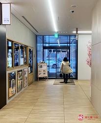 前往提供包括獨家創作料理、和牛及牛肉稀有部分的「牛角」北海道分店「牛角札幌站前店」時可使用的sitatte sapporo出口