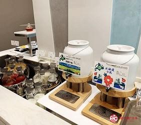 北海道札幌住宿推荐札幌ANA皇冠假日酒店自助早餐的北海道牛奶