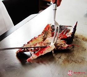 北海道札幌住宿推荐札幌ANA皇冠假日酒店餐厅美食石狩铁板烧餐厅烤虾
