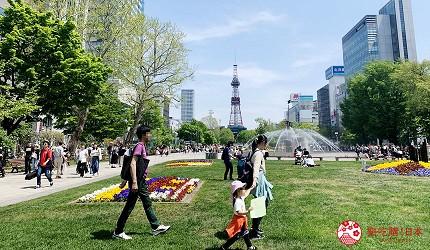 北海道札幌市区景点大通公园