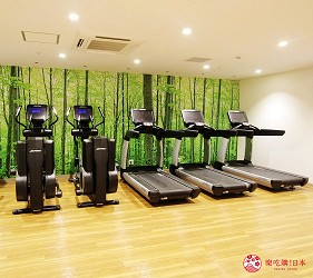 北海道札幌住宿推荐札幌ANA皇冠假日酒店内的健身房